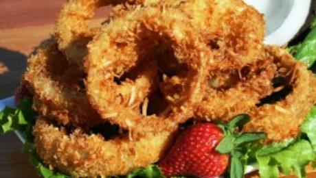 Coconut Onion Rings