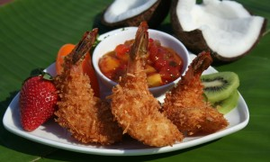 Caribbean Coconut Panko Shrimp