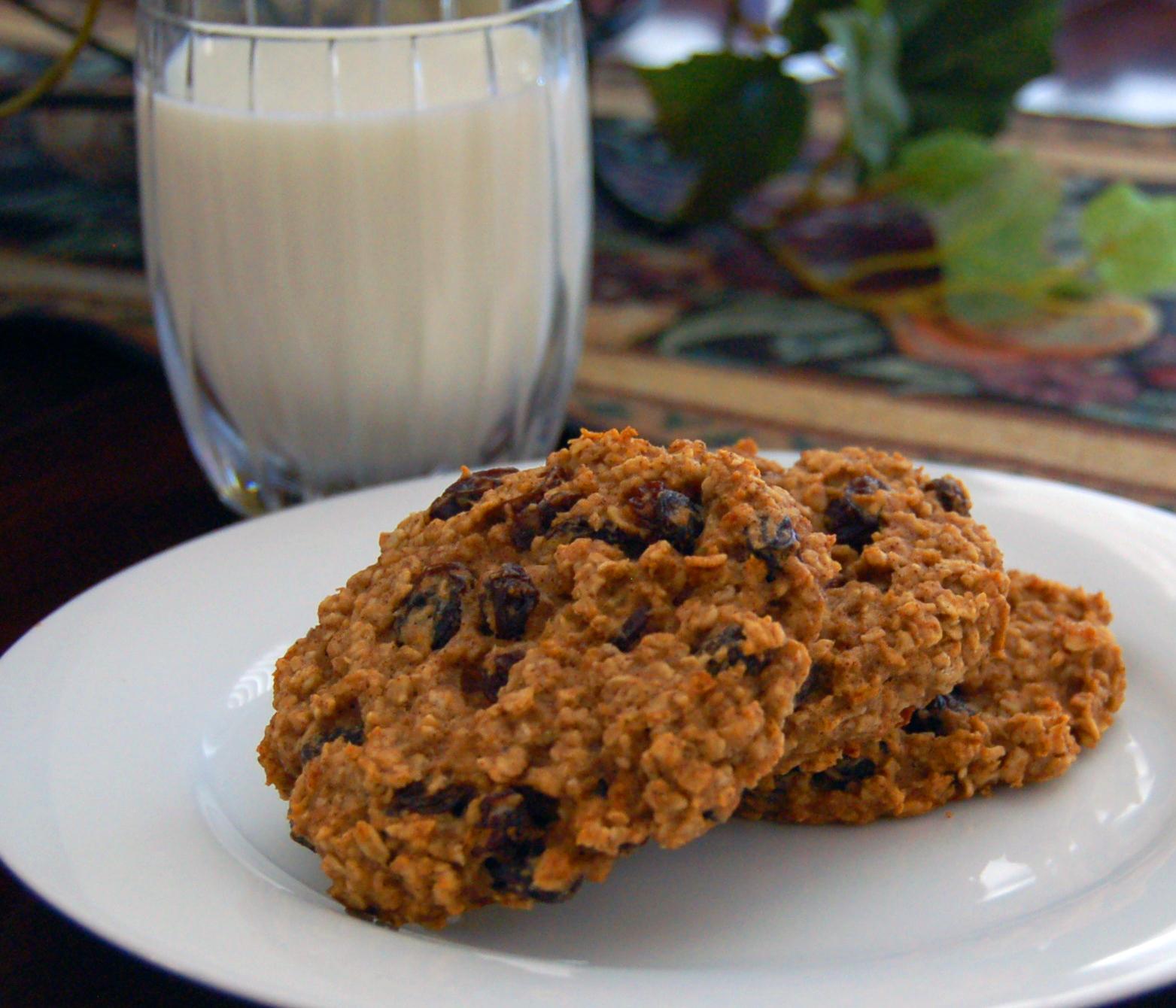 Panko Oatmeal Cookies