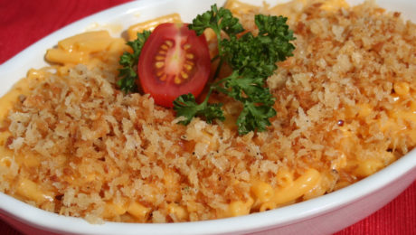 Panko Topped Mac & Cheese