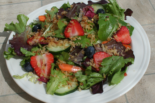 Crispy Panko Salad