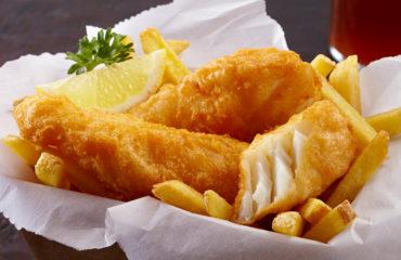 Tempura Fried Fish & Chips