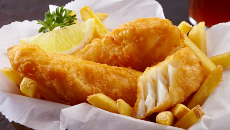 Tempura Fried Fish & Chips
