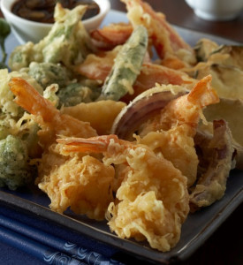 Authentic tempura batter