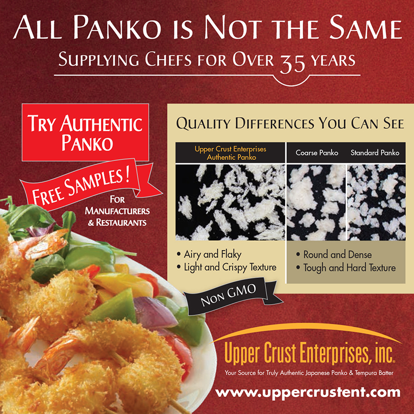restaurant quality ingredients - panko