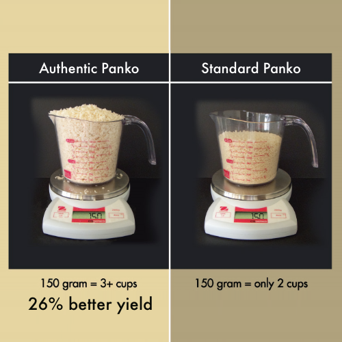 Authentic Panko vs. Standard Panko